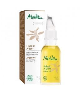 Melvita - Huile d'Argan équitable Régénérante Réparatrice - 50 ml
