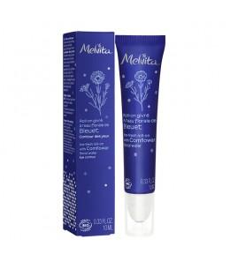 Melvita - Roll on givré contour des yeux à l'eau florale de bleuet - 10 ml