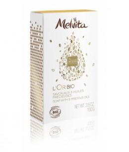 Melvita - Savon premium l'Or bio - 100 g