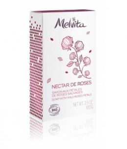 Melvita - Savon premium Nectar de roses - 100 g