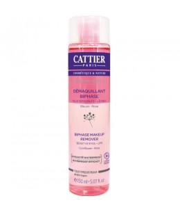 Cattier - Démaquillant biphase yeux et lèvres Symphonie Végétale - 150 ml
