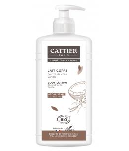 Cattier - Lait adoucissant Vanille et extrait de coco - 500 ml