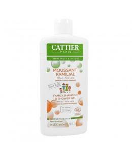 Cattier - Moussant Familial cheveux et corps sans sulfate - 500 ml