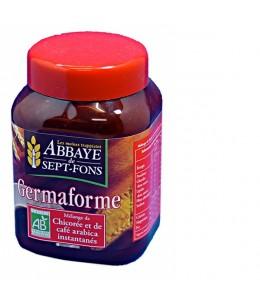 Abbaye de Sept Fons - Germaforme Chicorée bio + café arabica bio instantanés - 100 g