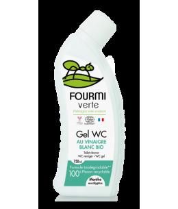 La Fourmi Verte - Gel WC parfum Menthe et Eucalyptus - 750 ml
