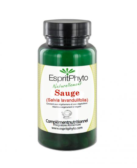 EspritPhyto - Sauge bio - 90 gélules