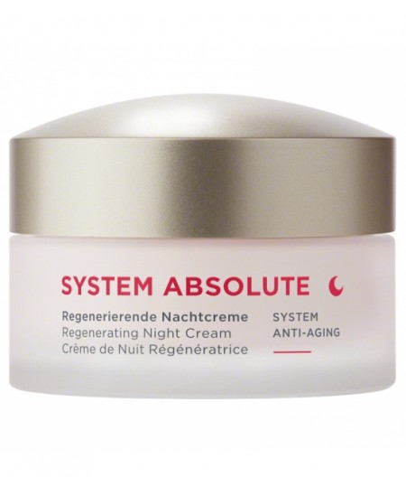 Anne Marie Borlind - System Absolute Crème de nuit Anti âge - 50 ml
