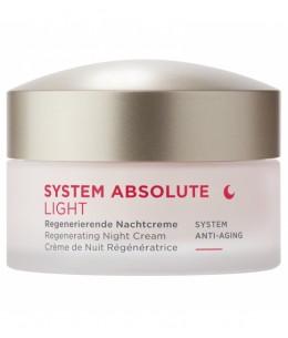 Anne Marie Borlind - System Absolute Crème de nuit Anti âge light - 50 ml