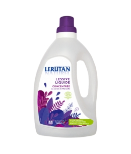 Lerutan - Lessive liquide concentrée Savon de Marseille Orange Lavande - 1.5L