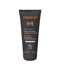 Florame - Shampoing douche Esprit Vétiver - 200 ml