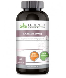 Equi - Nutri - L Cystine 500mg - 60 gélules