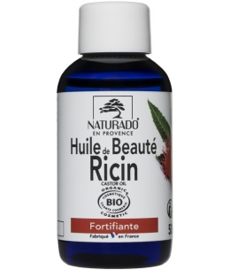 Naturado - Huile de Ricin fortifiant ongles et cheveux - 50 ml