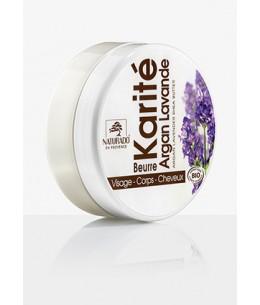 Naturado - Beurre de Karité Argan Lavande - 150 ml