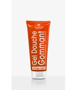 Naturado - Gel douche gommant orange argan - 200 ml