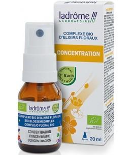 Ladrome - Complexe d'élixirs floraux CONCENTRATION - 20 ml