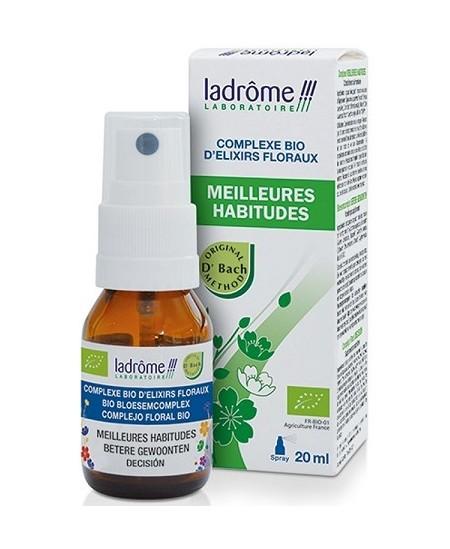 Ladrome - Complexe d'élixirs floraux MEILLEURES HABITUDES - 20 ml