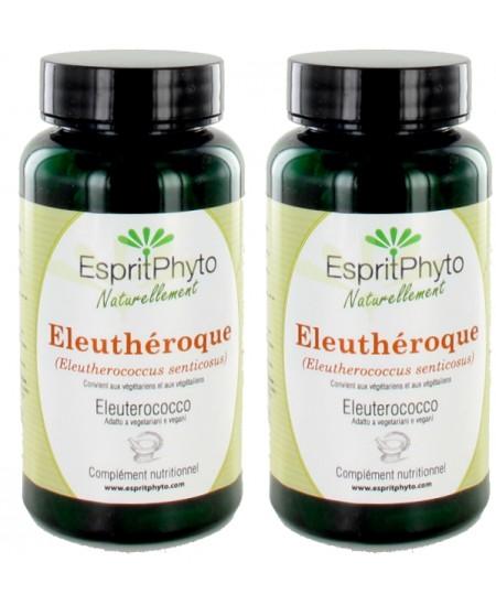 EspritPhyto - Eleuthérocoque - Cure de 1 mois (2 boîtes de 90 gélules)