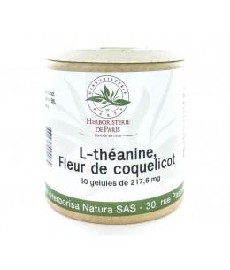 Bras de Morphée -L-théanine coquelicot Mélatonine vitamines B 60 gélules Herboristerie de paris