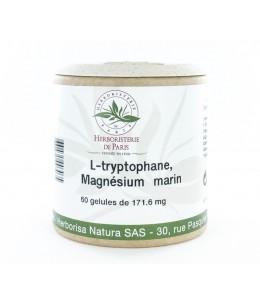 Herboristerie de Paris - L-tryptophane B6 Magnésium marin - 60 gélules