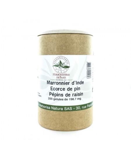 Herboristerie de Paris - Marronnier d'Inde - 200 gélules