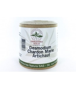 Hépaclair - Desmodium Chardon Marie Artichaut - 60 gélules