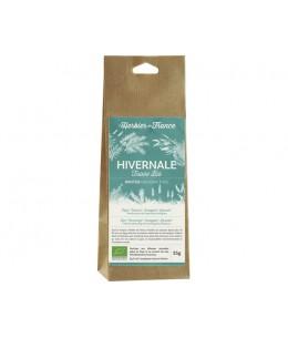 Herbier De France - Tisane Hivernale thym romarin eucalyptus lavande - 35 gr