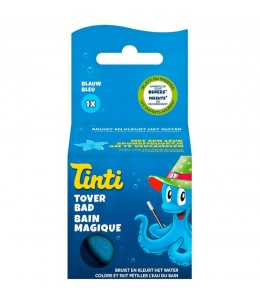 Tinti - Balle Effervescente Bain Magique Bleue