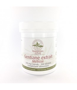 Herboristerie de Paris - Gentiane Extrait de Mélisse - 200 Gélules