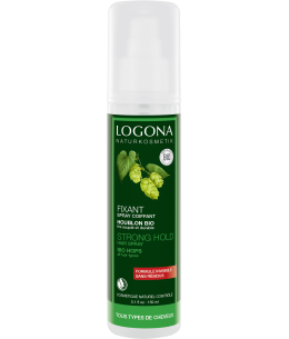 Logona - Spray coiffant Résines végétales au Houblon bio - 150 ml esprit phyto