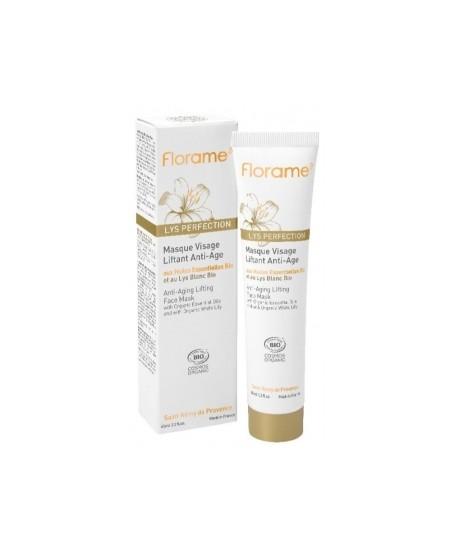 Florame - Masque visage liftant anti âge au Lys blanc - 65 ml