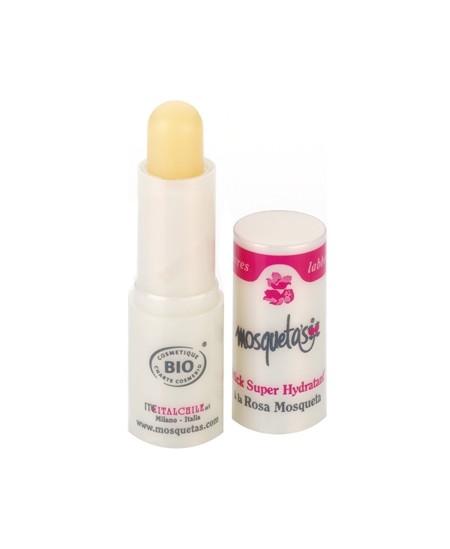 Mosqueta's - Stick soin des lèvres à la Rose Musquée - 4,5 ml