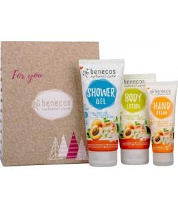 Benecos - Coffret Abricot et Fleur de sureau