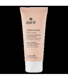 Avril - Crème mains Beurre de Karité Aloe Vera bio - 100 ml