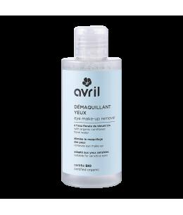 Avril - Démaquillant yeux à l'eau florale de Bleuet Bio - 150 ml