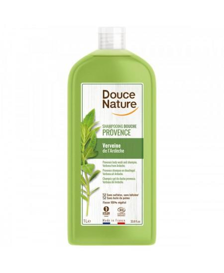 Douce Nature - Shampooing Douche Provence Verveine de l'Ardèche - 1 L