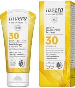 Lavera - Crème Solaire Peaux Sensibles SPF 30 - 50 ml