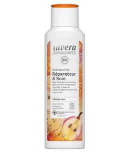 Lavera - Shampooing réparateur et soin bio - 250 ml
