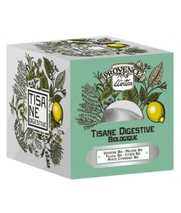 Provence d'Antan - Tisane be cube Digestive bio 24 sachets Recharge carton digestion difficile Esprit phyto
