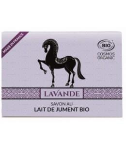 C'BIO - Savon Lait de jument à l'huile essentielle de lavandin - 100 gr savon bio traitant espritphyto
