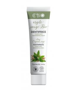 C'BIO - Dentifrice Argile Sauge bio purifiant - 75 ml blanchissant bio Espritphyto
