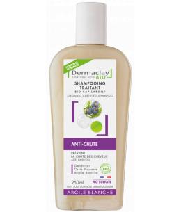 Dermaclay  - Shampoing anti chute, aide à la repousse Capilargil - 250 ml