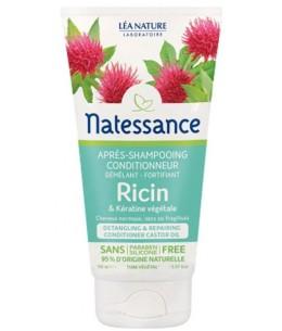 Natessance - Après Shampoing conditionneur démêlant Ricin Kératine Végétale - 150 ml fortifiant Espritphyto