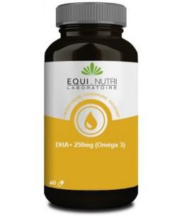 Equi - Nutri - DHA Plus 250mg Omega 3  - 60 capsules mémoire concentration Espritphyto