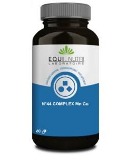 Equi Nutri - No 44 complexe Manganèse Cuivre Mn Cu - 60 gélules végétales articulations espritphyto