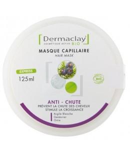 Masque capillaire anti chute bio - 125 ml - Dermaclay espritphyto