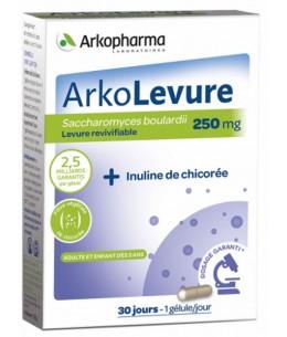 Arkopharma - Arkolevure Levure boulardii Saccharomyces boulardii - 30 gélules revivifiables espritphyto