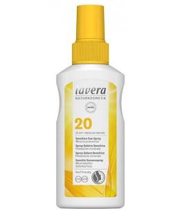 Spray Solaire SPF 20 - 105 ml - Lavera  protection solaire bio espritphyto