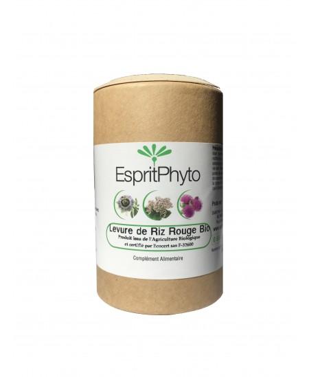 EspritPhyto - Levure de riz rouge bio - 120 gélules