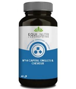 Equi - Nutri - N°14 Capital ongles cheveux - 60 gélules végétales