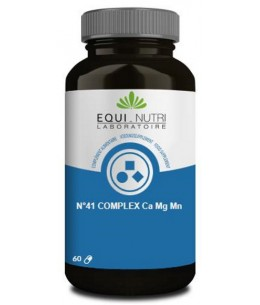 Equi - Nutri - N°41 Complex Ca Mg Mn - 60 gélules